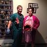Photo #1 - Zombie doctor; pregnant zombie
