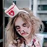 Photo #2 - Daughter Hannah as a Zombie Nurse