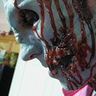 Photo #4 - up close of his torn open face