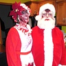 Photo #1 - Zombie Santa and Mrs. Clause