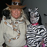 Photo #1 - Zoo Keeper and Zebra