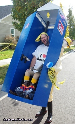 Honey Bucket Port-a-Potty Funny Costume