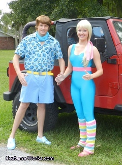 Barbie and Ken from Toy Story 3 Costume for Couples