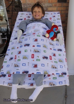 Homemade Bed Head Costume