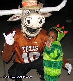 Texas Longhorn Mascot Bevo Halloween Costume