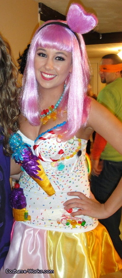 Katy Perry California Gurls Homemade Costume