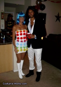 Katy Perry and Russell Brand Couples Costume