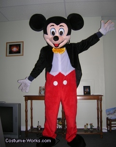 Mickey Mouse Mascot Costume