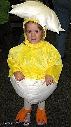 Homemade Easter Egg costumes