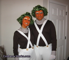 oompa lompas costume ideas for couples - Funny Character Halloween Costumes