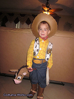 Toy story cowboy costume