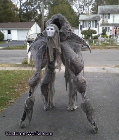 Homemade Soul Walker Costume