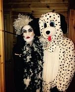 101 Dalmatians Homemade Costume