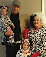 101 Dalmatians Family Costume