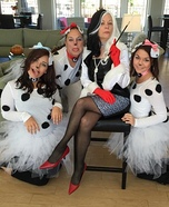 101 Dalmatians Group Homemade Costume