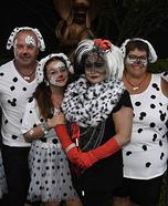 101 Dalmations Homemade Costume
