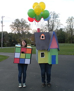 House from the movie Up costume