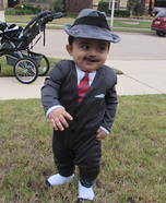 1920s Gangster Baby Homemade Costume
