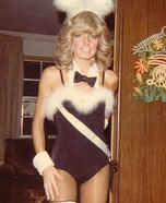 1980's Playboy Bunny Homemade Costume