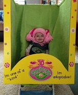 30th Anniversary Cabbage Patch Doll Homemade Costume