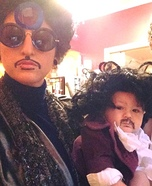 3 Generations of Prince Homemade Costume