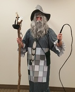 50 Shades of Gandalf the Grey Homemade Costume