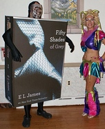 50 Shades of Grey the Book Homemade Costume