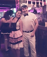50's Housewife and the Milkman Homemade Costume