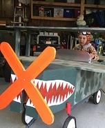 50's Pilot Homemade Costume