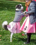 50's Pup Homemade Costume