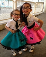 50s Sock Hop Girls Homemade Costumes