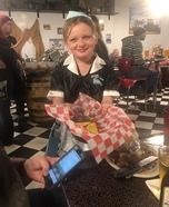 50s Waitress Homemade Costume