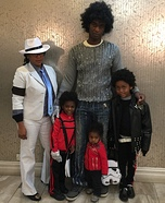5 Michael Jacksons Homemade Costume