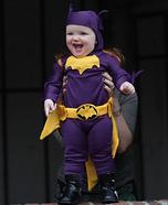 60's Era Batgirl Baby Homemade Costume
