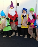 7 Dwarfs Homemade Costume