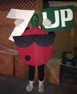 7 Up Cool Spot Homemade Costume