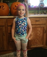 80s Workout Girl Homemade Costume