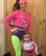 80's Workout Superstar Homemade Costume