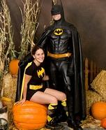 89 Batman and Batgirl Couple Costume