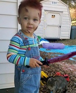 DIY Chucky Costume for Little Boys