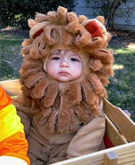 A-roarable Lion Baby Costume