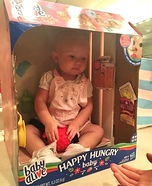 A Baby Alive Homemade Costume