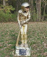 A Baseball Trophy Homemade Costume