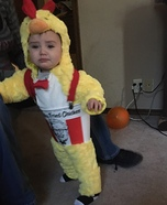 A Bucket of Chicken Costume