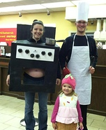 Bun in the Oven Homemade Costume