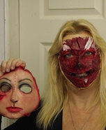 Scary Halloween costume ideas - A Change of Face Costume