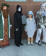 A Christmas Carol Family Homemade Costume
