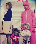 A Christmas Story Family Homemade Costume