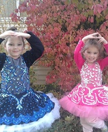 A Couple of Ballerinas Homemade Costume