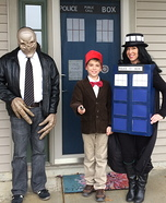 A Doctor Who Family Homemade Costume
